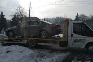 Holowanie samochodu Lesko